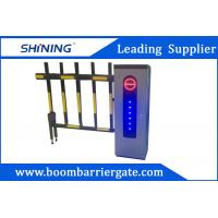 China 2.0 mm Cold Steel Driveway car Parking Barrier Gate With Led Light wholesale