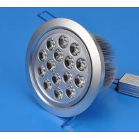 China High Power 15W Recessed LED Downlights Lamp Power Factor >0.9 Lifespan 50,000 hours wholesale