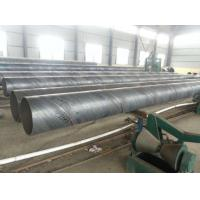 China Spiral Welded SSAW Steel Pipe Anti Corrosion / Anti Rust Paint For Water Engineering wholesale