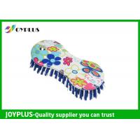 China Customized Color Household Cleaning Brushes Shower Cleaning Brush With Colorful Print wholesale
