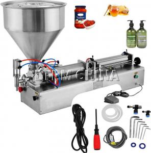 China Semi Automatic Magnetic Pump Liquid Perfume Filling Machine For Small Bottle on sale