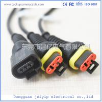 China Bus Internal 16 Pin Terminal Cable , Vehicle Interior Automobile Anti Plug-In Cable wholesale