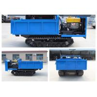 China 10hp 2.0 Tons Blue Hydraulic Tracked Dump Truck wholesale