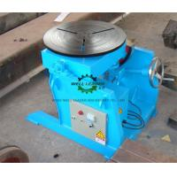 Quality Manual Flange Rotary Table For Welding , Tube Welding Positioner 0.2 Ton Tilting  Capacity for sale