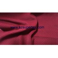 China 21W Cotton Corduroy Velvet Fabric with Pigment Dot Print Soft Handfeel without Wash wholesale