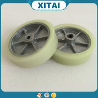 High Quality Factory Supplied  Polyurethane Material PU non-flat hand trolley wheels
