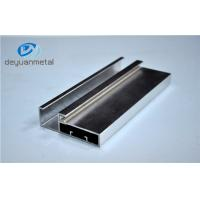 China 5.98 Meter Silver Polishing Aluminium Extruded Aluminium Profiles For Decoration With Cutting wholesale