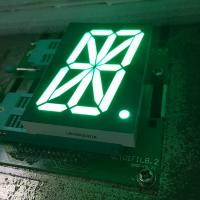 China Pure green 16 Segment LED Display single digit for digital read-out panel wholesale