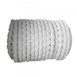 China 12 Strand Hollow Braid Polypropylene Rope , Coloured Polypropylene Rope wholesale