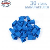 Buy cheap Grey Blue Colorful Female Diameter 5.5mm 6.0mm CAT5E CAT6 RJ45 Plug BOOTS from wholesalers