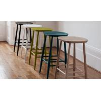 China Commercial Furniture Modern Bar Chairs Plywood Seat Bar Stool Solid Ash wholesale