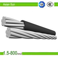 China 95mm2 120mm2 Aerial bundled cable AAC ACSR/PVC ABC Cable wholesale