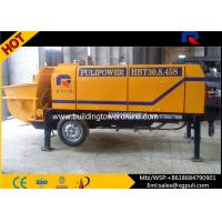 China Stationary Electric Concrete Pump 1840mm Wheel Span Anti - wearing Hydraulic Liquid wholesale