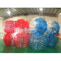 Buy cheap Red Clear Outdoor Inflatable Toys For Adults / Human Water Bubble Ball from wholesalers