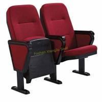 China Foldable Lecture Hall Seating / Auditorium Chair With Writing Pad Board Tablet wholesale