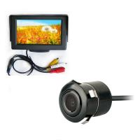 Buy cheap 18.5mm Punch Car Rear View Camera 4.3 Inch Sunvisor Car Monitor from wholesalers