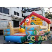 China Pvc Animal Outside Amusement Jumping Inflatable Bounce House For Kids wholesale