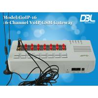 Buy cheap 16 Port GoIP VOIP GSM Gateway UDP / Free Unlimited Voip Calls RFC3261 from wholesalers