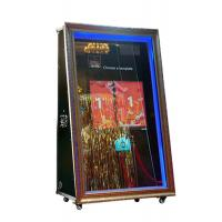 China 65 inch infrared touch automatic wedding booth selfie magic mirror wholesale