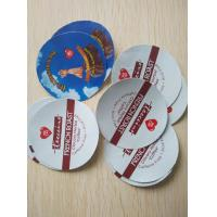 China Customized Design Aluminum Foil Smart Sealing Lids for Coffee K-cup wholesale
