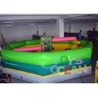 China Single Stick Inflatable Interactive Games Inflatable Wipeout Sport Game Meltdown Ride wholesale