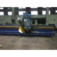 China 90 Degree Steel Plate Groove Milling Machine with Taiwan Imported Milling Head wholesale