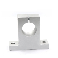 China Steel Vertical Support Seat 3D Printer Bearings Optical Axis Sk8 Seat Sk20-22 Sk60 wholesale