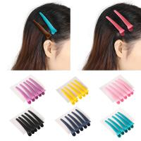 China Fashionable Hair Coloring Accessories Colorful Duck Mouth Hair Clip For Salon / Home wholesale