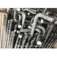 China T Type / J Type Concrete Anchor Bolts Zinc Plated , Bay Ground Anchor Bolts M20 M24 wholesale