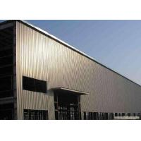 China Steel Structure Construction For Prefab Light Metal Workshop With ISO Certification wholesale