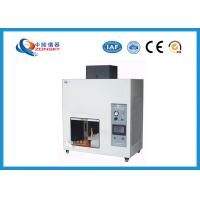 China UL94 Plastic Flammability Testing Equipment For Horizontal / Vertical Combustion wholesale