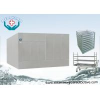 China Large Steam Sterilizer Double Door Autoclave Reducing Microorganism To 7 Logs on sale