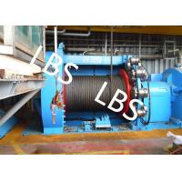 Quality Lebus Grooves Offshore Winch Oil Well Drilling Rig Parts Winch With Brake Disc for sale