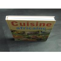 China Health Note Book / Cook Book Printing Pantone Color A4 B5 Case Bound Spot UV wholesale