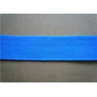 Quality Red Polyester Custom Jacquard Ribbon Fabric Trim 2Cm Width Printed for sale