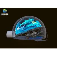 China Electic Simulator System Dome Movie Theater With 12 Months Warranty wholesale