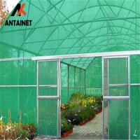 China 180 Gsm HDPE Outdoor Shade Net Heavy Duty Wind Break UV Stabilized green dark any color HDPE material wholesale