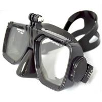 China Free Diving Adults Flexible Silicone dive mask with Tempered Glass Lens wholesale