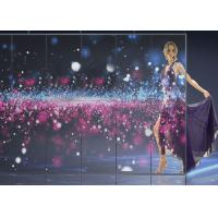 China Indoor Transparent LED Screens For Logo Showing Excellent Flatness Seamless wholesale