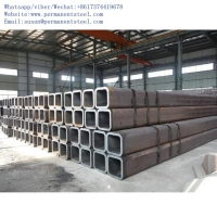 China 75x75 galvanized square pipe/ASTM A36 40x80 GI rectangular square hollow section/RHS/ SHS square hollow section on sale