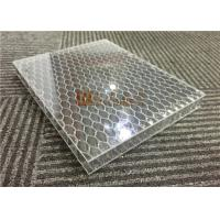 China Transparent Acylic Aluminum Honeycomb Board Sandwich Panels Lightweight wholesale