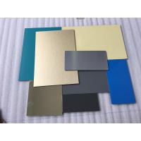 China White Lightweight Aluminum Plate Panels , Interior Sheet Metal Wall Panels  wholesale