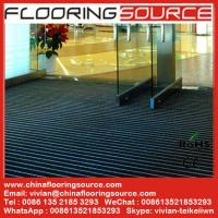 China Aluminum Heavy Duty Floor Mat for Building High Traffic Entrance Areas wholesale