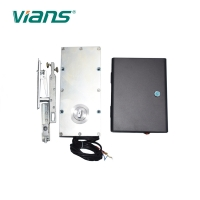 Embedded Glass Automatic Door Closer Opener For Office Shopping Mall