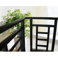 China Aluminum Stair Railing For Stairs , Powder Coating / Anodizing Aluminium Exterior Hand Railings wholesale