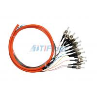 China Fiber Optic Pigtail Multimode ST UPC for Fiber Patch Panel and Fiber Adapter wholesale
