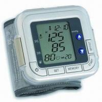 China Wrist Blood Pressure Monitor with Body Fat Monitor with Oscillometric Measurement Method wholesale