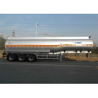 China 42m3 Liquid Tank Trailers Aluminum Alloy Material Use In Pure Sulfuric Acid Transport on sale