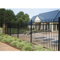 China Professional Square Tubular Picket Fence For Automatic Security Gates wholesale
