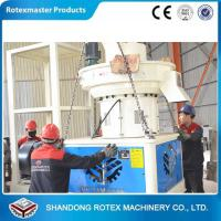 China Vertical ring die type good wood pelleting machine 600-800kg/h wholesale